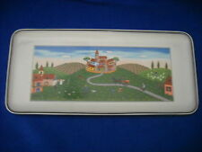 """Sandwich tray, 13 1/2"""", in DESIGN NAIF / VILLAGE pattern by Villeroy & Boch"""