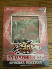 Konami YU-GI-OH  Crimson Crisis Sealed mini box
