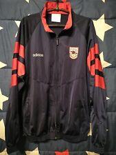 SIZE L Arsenal 1990-1991-1992-1993-1994 Training Jacket Adidas Vintage