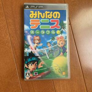 PSP Minna no Tennis Portable 4948872680462 From japan