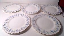 """5 Royal Albert Memory Lane Bread Plates 6 1/4"""" diameter"""