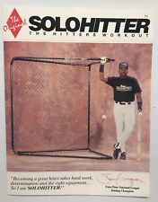 Tony Gwynn Solo Hitter Brochure San Diego Padres MLB Hall Of Fame