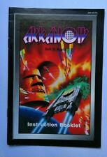 Arkanoid Snes Super Nintendo game Instruction Book MANUAL ONLY original