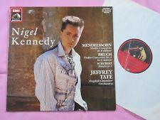 MENDELSSOHN BRUCH Violin Concerto Schubert Nigel Kennedy ECO Tate HMV Digital LP