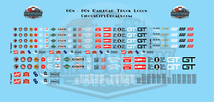 Railroad MOW Vehicle S Scale Decals