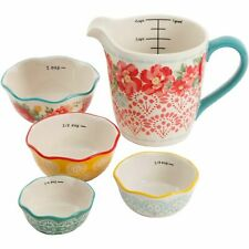 The Pioneer Woman 5-Piece Prep Set, Measuring Bowls & Cup