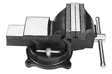 """4"""" 100mm Jaw Bench Vice Workshop Clamp Work Bench Table Swivel Base With Anvil"""