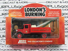 LLEDO 1:64 Scale Days Gone London's Burning 1934 MACK TOW TRUCK Promo LP5170