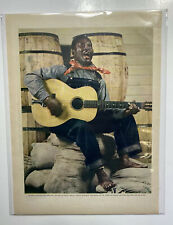 Lead Belly Picture And Story Magazine 1940s Huddie Ledbetter
