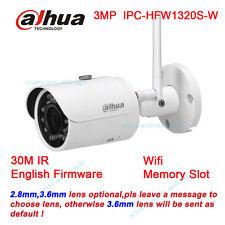 Dahua Wireless Wifi Bullet 3MP IP Camera IPC-HFW1320S-W HD IR Outdoor Camera