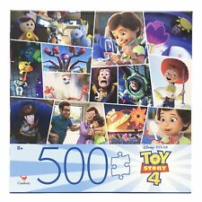 """Toy Story 4 Puzzle 500 Piece Cardinal Jigsaw Puzzle 24"""" x 18"""" New Free Shipping"""