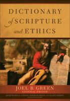 Dictionary of Scripture and Ethics .. NEW