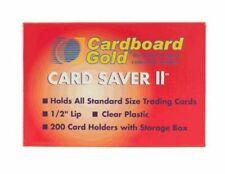 Cardboard Gold Card Saver 2 Top Load Graded Card