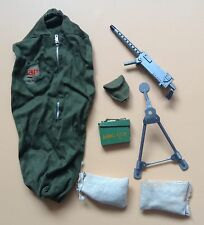 VINTAGE anni 1960 anni'70 Palitoy ACTION MAN G.I. Joe Bivacco vestito set lotto