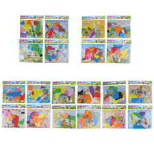 Rotatable EVA 3D Foam Stickers DIY Movable Puzzle Educational Toys For ChildBJO