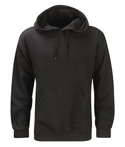 Unisex Hoodie Sweatshirt - Black / Navy - HS280