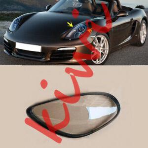 For Porsche Boxster 2012-2016 Left Side Headlight Lens + Glue Replace