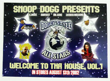 """Doggy Style All-Stars Welcome To Tha House Hip-Hop Album Promotional Sticker 7"""""""