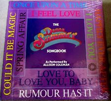 Allison Coleman The Donna Summer Songbook 1978 Springboard Recs DISCO Sealed LP