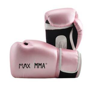 MaxxMMA Pro Style Gloves - Gold & Rose Gold