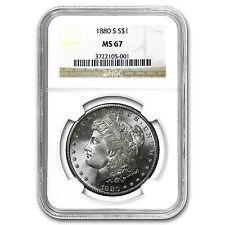 1880-S Morgan Dollar MS-67 NGC - SKU #7234
