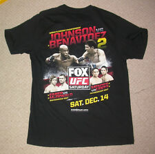 UFC MIGHTY MOUSE V Benavidez sur Fox 9 T shirt Extra Large XL Jujitsu Boxe MMA New
