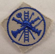 Fireman Cut Edge Helmit Ladder Hose Vintage Uniform Patch #Msgy