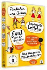 El doble Linda Lotte/Emil y los detectives/puntito y Ant [4 DVDs/nuevo/en el embalaje original]