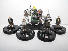 HEROCLIX LORD OF THE RINGS FELLOWSHIP LOT WITH RARE ARAGORN