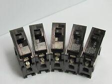 LOT OF 5 ITE CIRCUIT BREAKER BL120 20A 20 A AMP 1 POLE 120/240 VAC