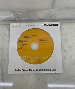 Microsoft Office 2010 Home and Student For Windows with Product Key New
