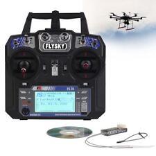 Flysky FS i6 2.4G 6CH RC Transmitter and FS-iA6 Receiver for RC DIY Quadcopter