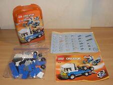 Lego Creator 4838 MINI-FAHRZEUGE Auto-Transporter Geländewagen Abschlepp-Truck