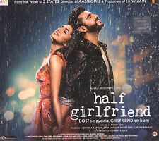 HALF GIRLFRIEND - OFFICIAL BOLLYWOOD SOUNDTRACK CD - FREE POST
