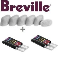 BREVILLE Espresso Accessories - 2 x 8 Cino Cleano Tablets & 1 x 6 Water Filters