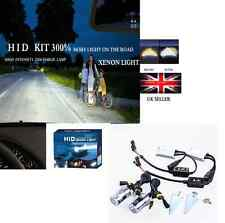 XENON HID CONVERSION KIT H7 6000K55W 300% MORE LIGHT IN THE ROAD