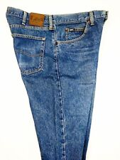 Lee Mens Regular Fit Blue Jeans Straight Classic Whisker 2008944 Size 36x30