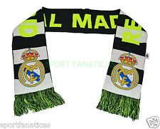 Real Madrid Scarf Reversible Bar Gray White Neon New Season Ronaldo 7