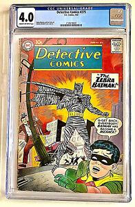 Detective Comics #275 CGC 4.0