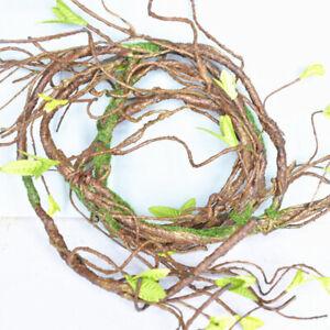 Artificial Vine Leaf Garland Flower Branch Wedding Hanging Fake Home Decor