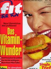 Fit for Fun 8/1997 - Vitamine, Fitness-Check, Kräutermedizin, coole Drinks
