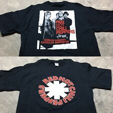 RED HOT CHILI PEPPERS 90s VTG Californication TOUR London T Shirt Concert XL