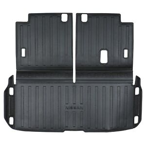 NEW OEM 13-19 Nissan Pathfinder REAR Black Cargo Area Protection Mat Liner Tray