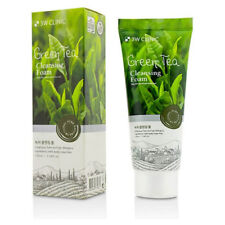 3W Clinic Green Tea Deep Pore Foam Cleasing Natural Face Wash Soothing Moisture