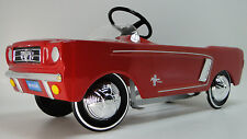 1965 Mustang Ford Pedal Car A Show GT Vintage Hot T Rod Metal Midget Model