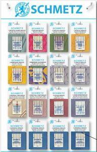Sewing Machine Needles Schmetz - BUY 2, GET 3rd PACKET FREE + Fast UK Dispatch!