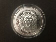 2020 Niue Roaring Lion 1oz  $2 New Zealand Dollar Silver Bullion coin