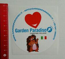 Autocollant/sticker: Garden paradiso camping village-Italie (12041667)