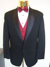 Tuxedo Jacket Lot of 10 Black Formal Coats Bulk choose your size - boy-men sizes