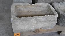 Alter Trog aus Granit 43 cm lang  Steintrog Granittrog G1192 Brunnen Waschbecken